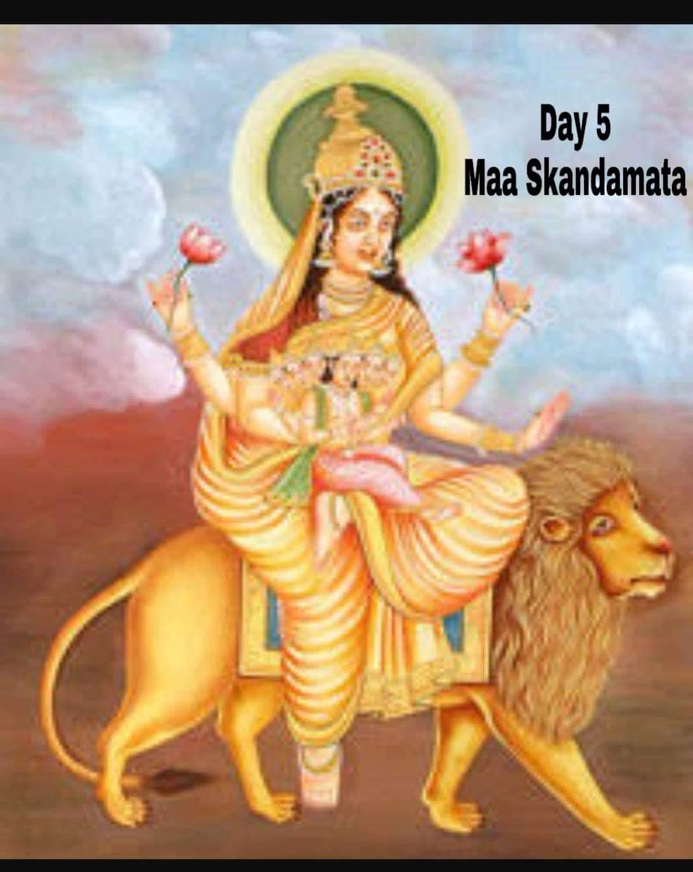 Navaratri Day 5 – Skandamata Devi