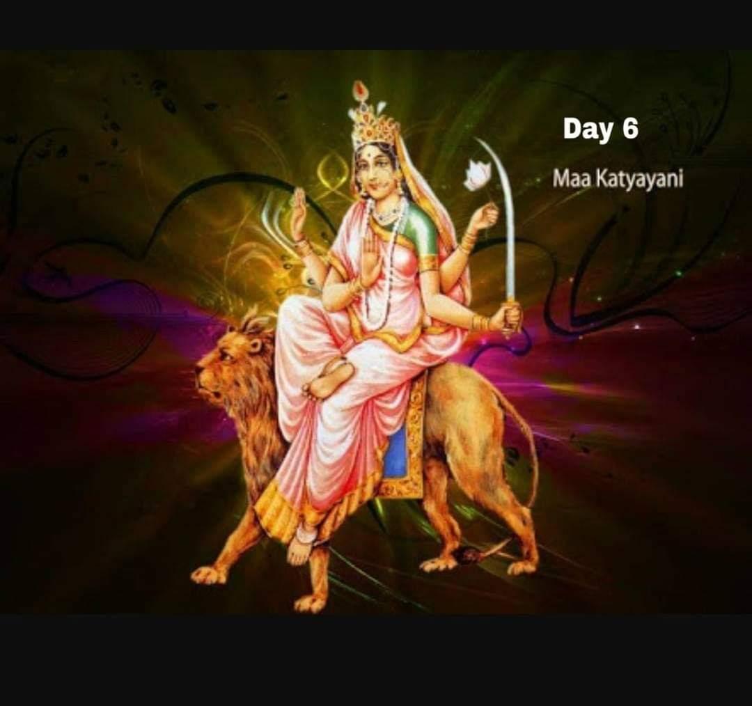 Navaratri Day 6 – Katyayani Devi