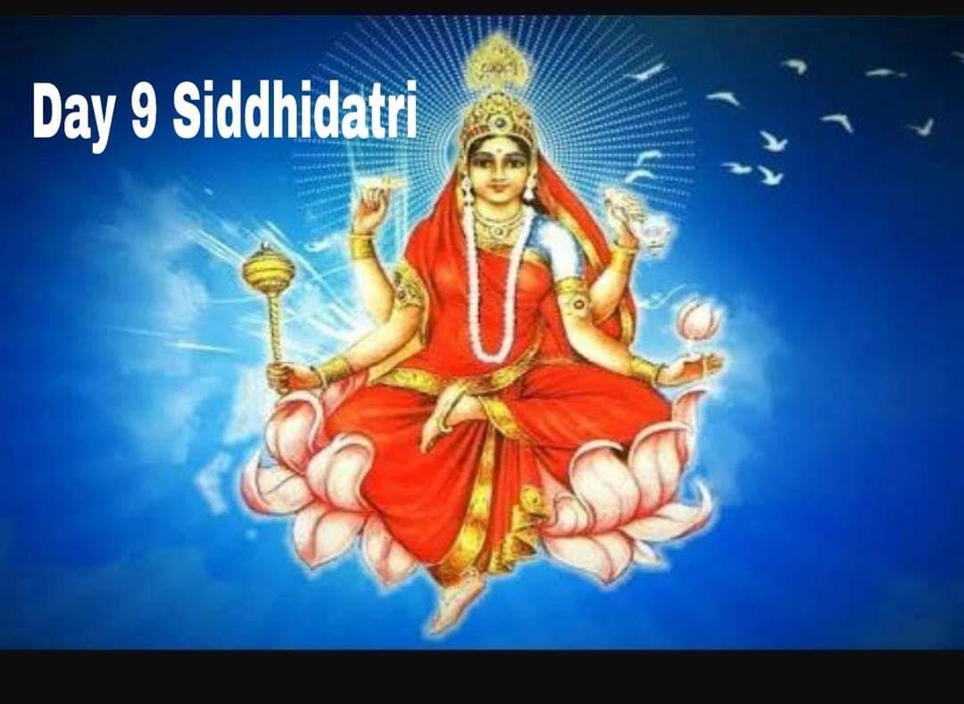 Navaratri Day 9 – Siddhidatri Devi